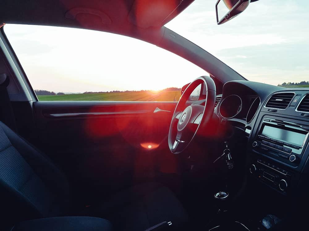 interior of car value