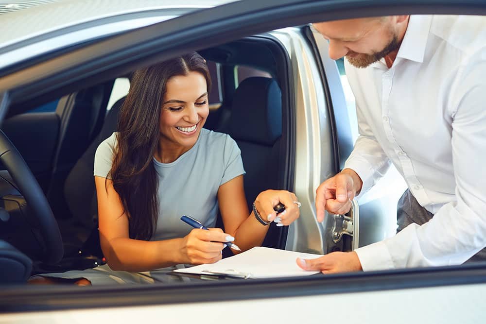 working with a car buying service