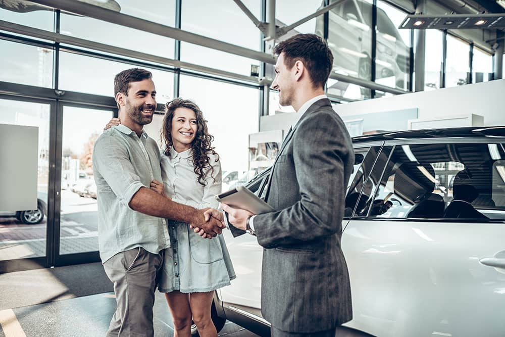 negotiating with a dealer for car